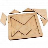 Игрушка головоломка «Танграм» с набором карточек «Кроха».