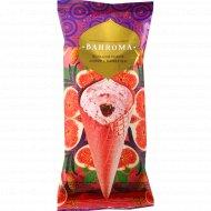 Мороженое «Bahroma» инжир с миндалем, 105 г.