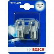 Лампа автомобильная «Bosch» P21/5W, 12V, 21/5W, 1987301016KNM