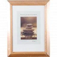 Рамка деревянная со стеклом 21x30 см.