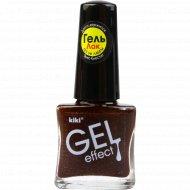 Лак для ногтей «Kiki» Gel Effect 015, 6 мл.