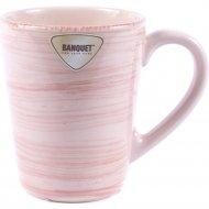 Чашка «Banquet» Розовая 310 мл, 20017011