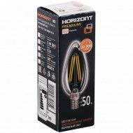Лампа светодиодная «Horizont» C37 5W 4000К Е14.