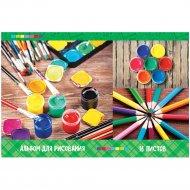 Альбом для рисования А4, на скрепке «ArtSpace» яркие краски, 16 листов