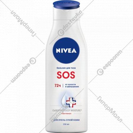 SOS-бальзам для тела «Nivea» восстановление, 250 мл.