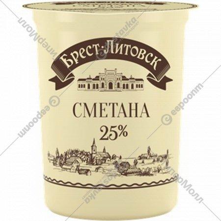 Сметана «Брест-Литовск» 26 %, 400 г.