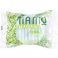 Губка для тела «Tiamo Massage» круг