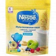 Молочная мультизлаковая каша «Nestle» яблоко-черника-малина, 220 г.