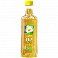 Напиток «Зеленый чай со вкусом алоэ, ромашки, женьшеня, мяты» 0.5 л.
