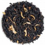 Чай черный листовой «Чайные Шедевры» крем брюле, 500 г.