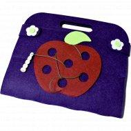 Сумка-игралка «Овощи, фрукты и ягоды».