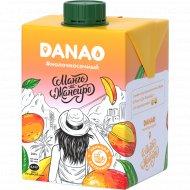 Напиток «Данао» с фруктовым наполнителем с соком манго, 1.4%, 465 мл.