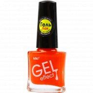 Лак для ногтей «Kiki» Gel Effect 037, 6 мл.