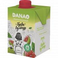Напиток «Данао» с яблочным соком и гуавой, 1.4%, 465 мл.