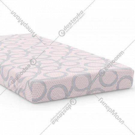 Простыня на резинке «Samsara» Бесконечность Pink, 200x160, 160Пр-21