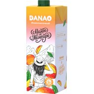 Напиток «Данао» с фруктовым наполнителем с соком манго, 1.4%, 950 мл.