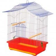 Клетка для птиц «Лори» Корелла, красная, 62х47х30 см