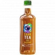 Напиток «Darida» черный чай со вкусом черной смородины, лаванды, мяты, 0.5 л.