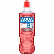 Напиток «Аква Витамин» c ароматом клюквы и витамином B12, 0.75 л.