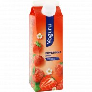 Йогурт питьевой «Yoguru» 1,5%, клубника, 500 г.