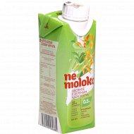 Напиток овсяный «Ne moloko» с зеленым чаем матча, 0.5%, 0.25 л.