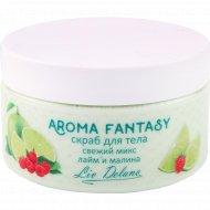 Скраб для тела «Aroma Fantasy» свежий микс лайм и малина, 300 г.