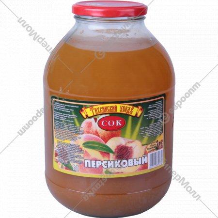 Сок персиковый «Тихвинский уездъ» 3 л.