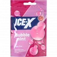 Жевательная резинка «Ice-X» без сахара, со вкусом бабблминт, 31.3 г.