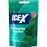 Жевательная резинка «Ice-X» эвкалипт и ментол, 31.3 г., фасовка 28 кг