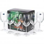 Набор бокалов для вина «Bohemia Crystal» Lara, 6 шт, 350 мл