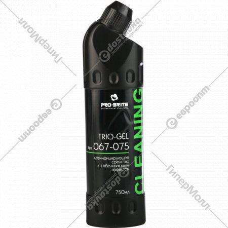 Дезинфицирующее средство «Trio-Gel» с отбеливающим эффектом, 750 мл.
