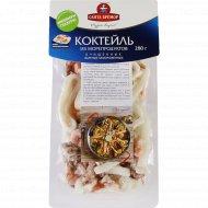 Коктейль из морепродуктов вареных, замороженных поштучно, 280 г.
