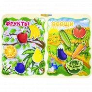 Игрушка сортер «Какая разница?» фрукты-овощи.