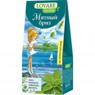 Чай травяной «Lovare» мятный бриз, 20 пакетиков.