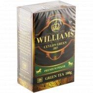 Чай зеленый «Williams» Сeylon Green, листовой, 100 г.