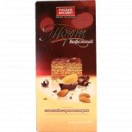 Торт вафельный с шоколадно-ореховым вкусом, 220 г.