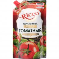 Кетчуп «Ricco» томатный, 350 г