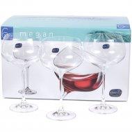 Набор бокалов для вина «Bohemia Crystal» Megan, 6 шт, 500 мл