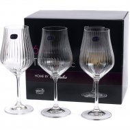 Набор бокалов для вина «Bohemia Crystal» Tulipa optic, 6 шт, 350 мл