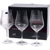 Набор бокалов для вина «Bohemia Crystal» Tulipa optic, 6 шт, 550 мл
