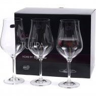 Набор бокалов для вина «Bohemia Crystal» Tulipa, 6 шт, 550 мл