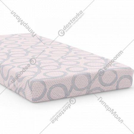 Простыня «Samsara» Бесконечность Pink, полуторная, 145Пр-21