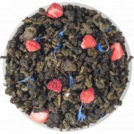 Чай зеленый листовой «Чайные Шедевры» клубничный зефир, 500 г.