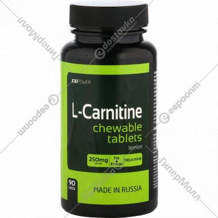 Жевательные таблетки «L-Карнитин» цитрус, 90 шт.