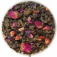 Чай зеленый листовой «Чайные Шедевры» земляника со сливками, 500 г.