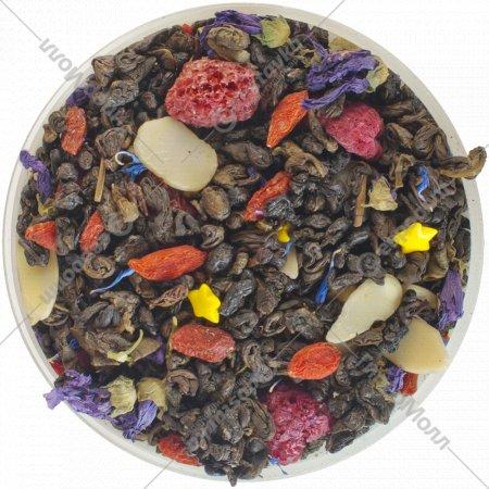 Чай зеленый листовой «Чайные Шедевры» сказки леса, 500 г.