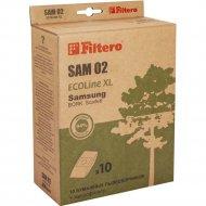 Пылесборник бумажный «Filtero» SAM 02 10+фильтр.