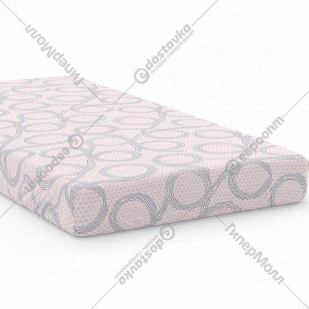 Простыня «Samsara» Бесконечность Pink, двуспальная, 220Пр-21