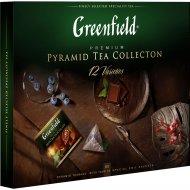 Набор чая «Greenfield» Pyramid Tae Collection, 110 г.