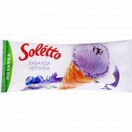 Мороженое «Soletto» лаванда-черника, 75 г.
